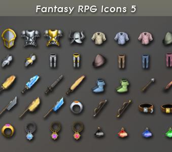 Fantasy RPG Icons 5