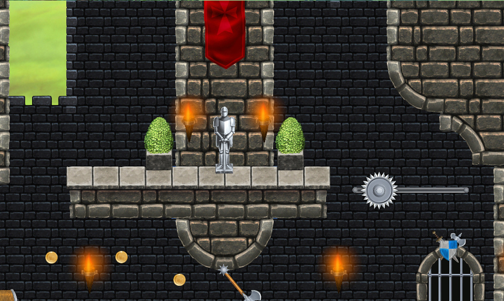 Fortified Castle - Platform Tileset2
