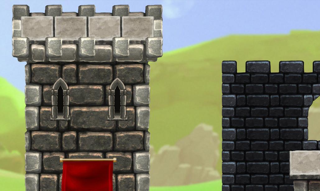 Fortified Castle - Platform Tileset3