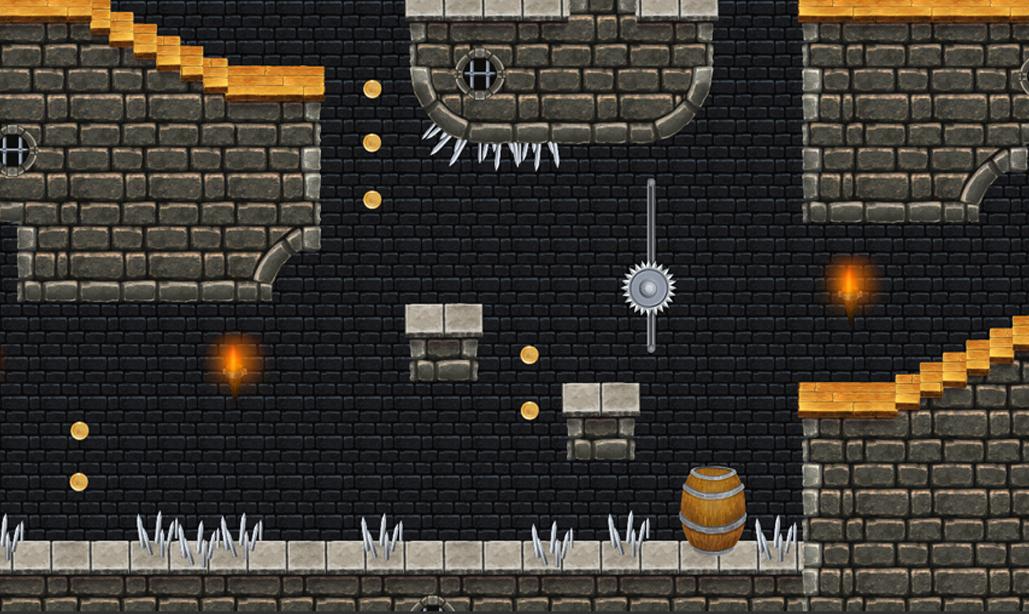 Fortified Castle - Platform Tileset1